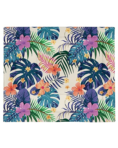 Abstract Color Tropical Pattern Seamless Light