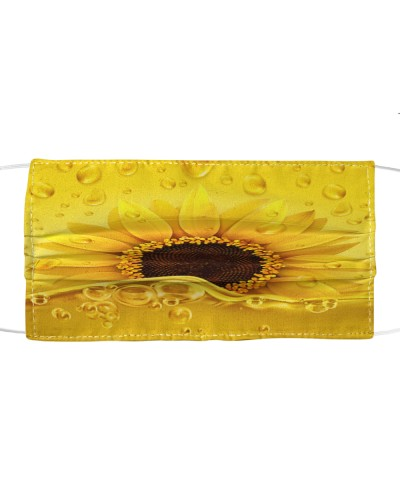 Mask golden drops sunflower