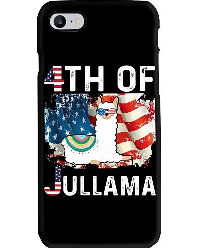 4th of July Cute Llama Jullama Tee