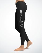 Mom Life Ladies Leggings lifestyle-leggings-left-1