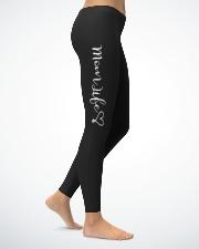 Mom Life Ladies Leggings lifestyle-leggings-right-1