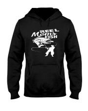 REEL MOMS FISH Hooded Sweatshirt thumbnail