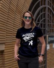 REEL MOMS FISH Ladies T-Shirt lifestyle-women-crewneck-front-2