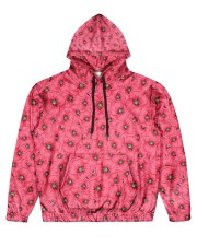 Red Poppies Daisies Men's All Over Print Hoodie thumbnail