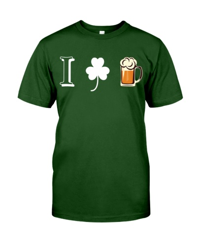 I LOVE IRISH BEER