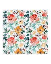 Mask Colorful Floral Watercolor Seamless Pattern Cloth face mask aos-face-mask-coverlet-lifestyle-front-02