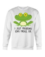 Frogs Crewneck Sweatshirt thumbnail
