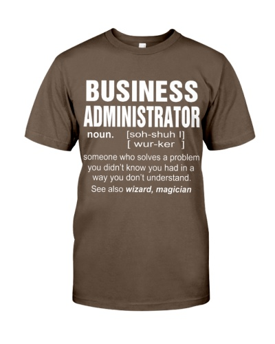 HOODIE BUSINESS ADMINISTRATOR
