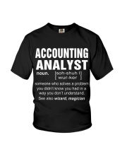 HOODIE ACCOUNTING ANALYST Youth T-Shirt thumbnail