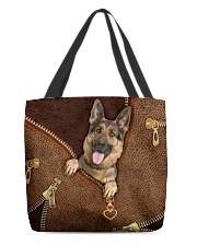 German Shepherd   All-over Tote front