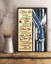Blue I Choose You Poster  11x17 Poster lifestyle-poster-3