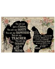 Chicken Lover You are not just a chicken 17x11 Poster front