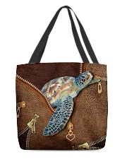 Turtle V2   All-over Tote front