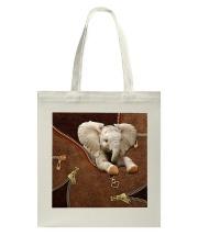 Elephant Like Leather Tote Bag tile