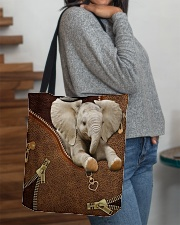 Elephant Like Leather All-over Tote aos-all-over-tote-lifestyle-front-09