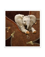 Elephant Like Leather Sticker tile