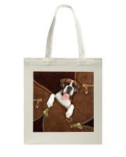 Boxer  Tote Bag tile