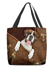 Boxer  All-over Tote front