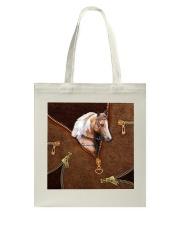 Horse like leather Tote Bag tile