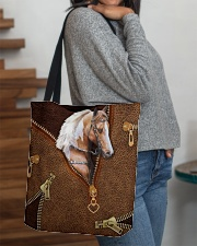 Horse like leather All-over Tote aos-all-over-tote-lifestyle-front-09