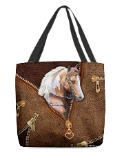 Horse like leather All-over Tote front