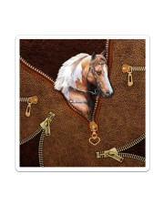 Horse like leather Sticker tile