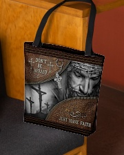 Don't Be Afraid Just Have Faith  All-over Tote aos-all-over-tote-lifestyle-front-02