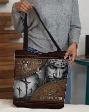 Don't Be Afraid Just Have Faith  All-over Tote aos-all-over-tote-lifestyle-front-10