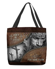 Don't Be Afraid Just Have Faith  All-over Tote back
