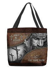 Don't Be Afraid Just Have Faith  All-over Tote front