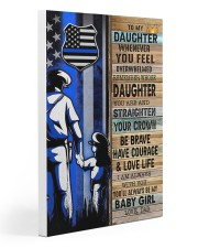 Police Officer Gift for Daughter my baby girl Gallery Wrapped Canvas Prints tile