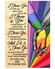 LGBT I Choose You 11x17 Poster front
