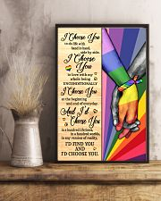 LGBT I Choose You 11x17 Poster lifestyle-poster-3