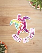 Turtle Salty Lil' Beach  Sticker - Single (Vertical) aos-sticker-single-vertical-lifestyle-front-07