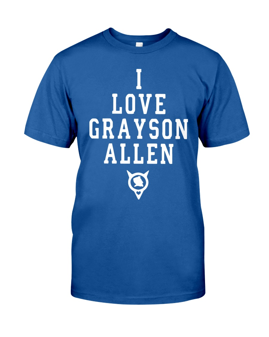 Duke Basketball I Love Grayson Allen T Shirt