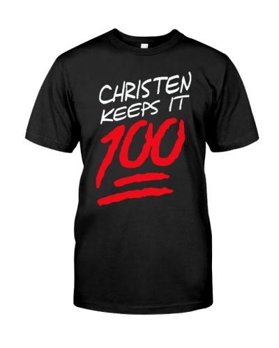 Christen Keeps It 100 Shirt