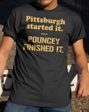 Pouncey Finished It Shirt Classic T-Shirt apparel-classic-tshirt-lifestyle-28