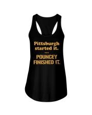 Pouncey Finished It Shirt Ladies Flowy Tank thumbnail