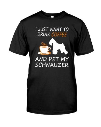 Drink-Coffee-Pet-My-Schnauzer-Shirt