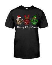 DOG PAW XMAS CHRISTMAS SWEATSHIRT Classic T-Shirt thumbnail