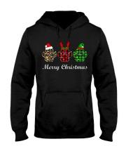 DOG PAW XMAS CHRISTMAS SWEATSHIRT Hooded Sweatshirt thumbnail