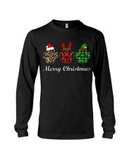 DOG PAW XMAS CHRISTMAS SWEATSHIRT Long Sleeve Tee thumbnail