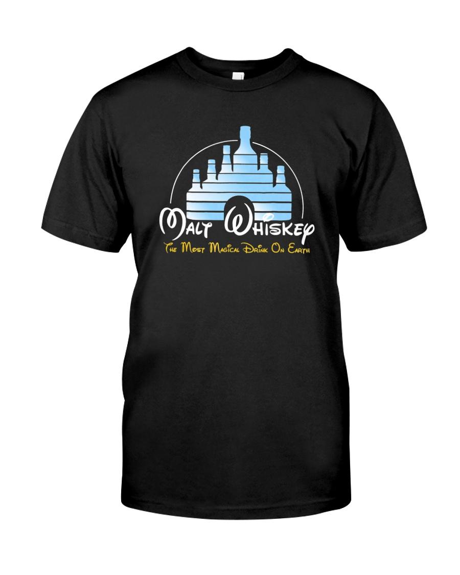 Malt-Whiskey-Shirt-Most-Magical-Drink Classic T-Shirt