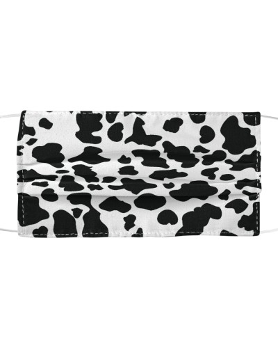 Cow Print Cloth Face Mask