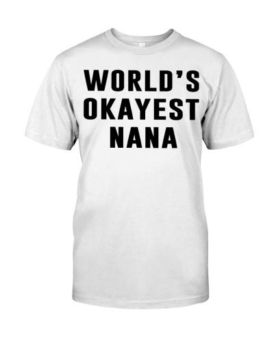 WORLD'S OKAYEST NANA