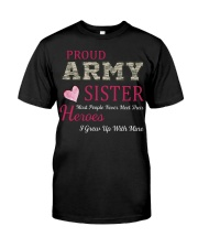 PROUD ARMY  SISTER Classic T-Shirt tile