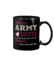 PROUD ARMY  SISTER Mug tile