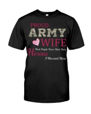 PROUD ARMY WIFE Classic T-Shirt thumbnail