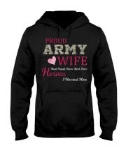 PROUD ARMY WIFE Hooded Sweatshirt thumbnail