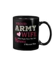 PROUD ARMY WIFE Mug thumbnail